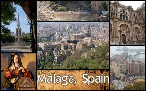 Malaga collage
