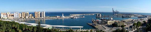 Panorama Malaga Harbour