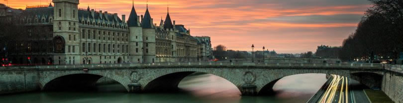 Paris-France-Seine-River-uitsnede